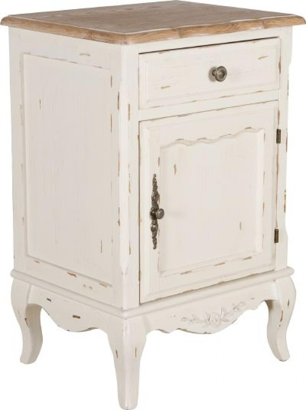French Country Bedside Table New House Main Bedroom In