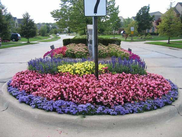Flower Bed Installations And Designs Begonia Brothers