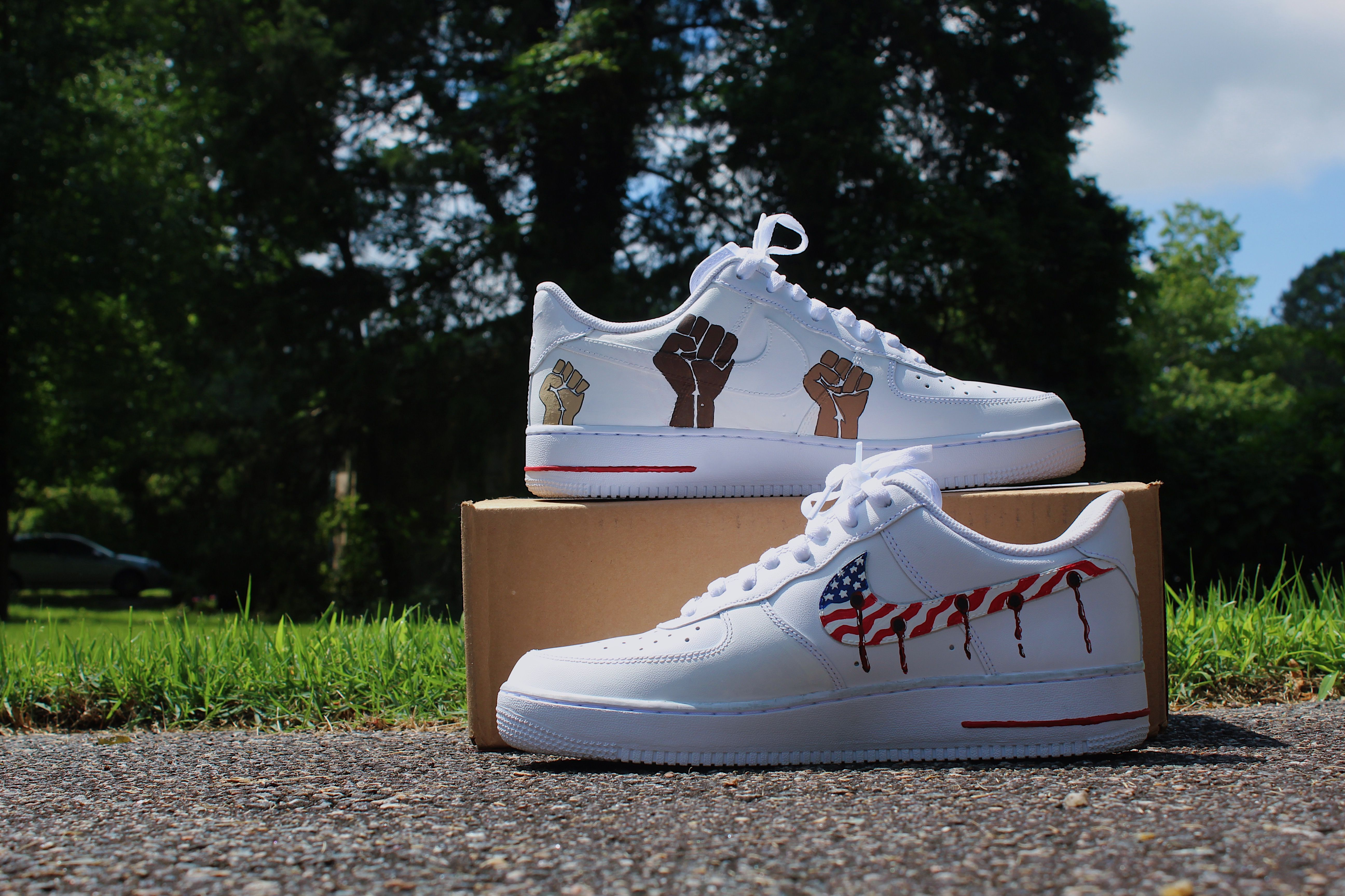 Custom Airforce Ones Shoes Adidas Stan Smith Adidas Stan