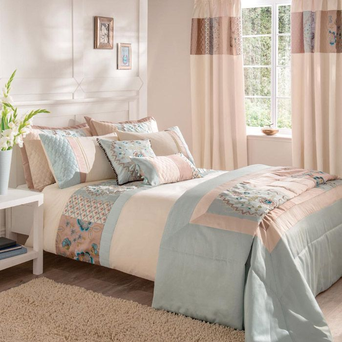 Duvet Cover Set In A Duck Egg Colour This Eastern Inspired Is Available