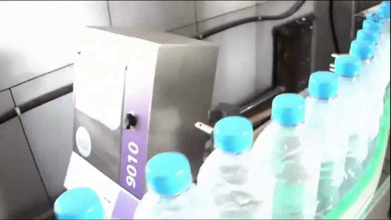 Pet Bottle Shrink Sleeve Labeling System With Shrink Packing Machine And
