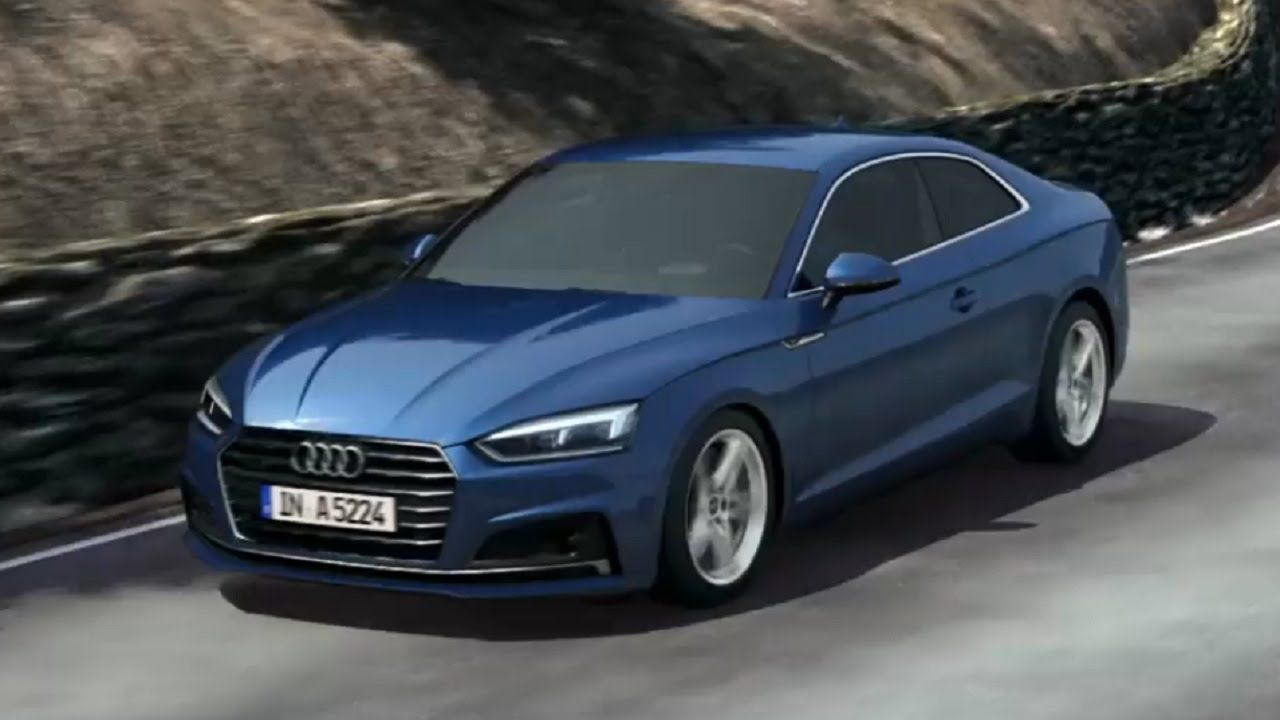 2017 audi a5 coup animation suspension with damper control audi audi audi a5 coupe audi a5. Black Bedroom Furniture Sets. Home Design Ideas