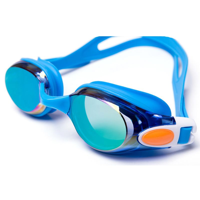 f6cca6d51fbd Hot Sale Waterproof Anti Fog UV Adults Professional Colored Lenses Diving Swimming  Glasses Eyewear Swim goggles