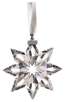 e8dd2ad0fbb0 Swarovski 2013 Annual Edition Crystal Star Ornament