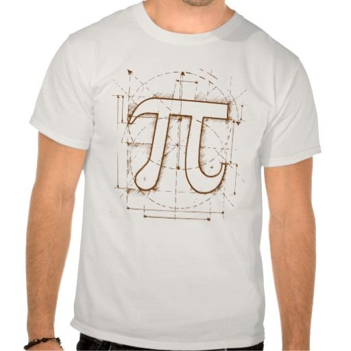 Pi Number Drawing Shirt