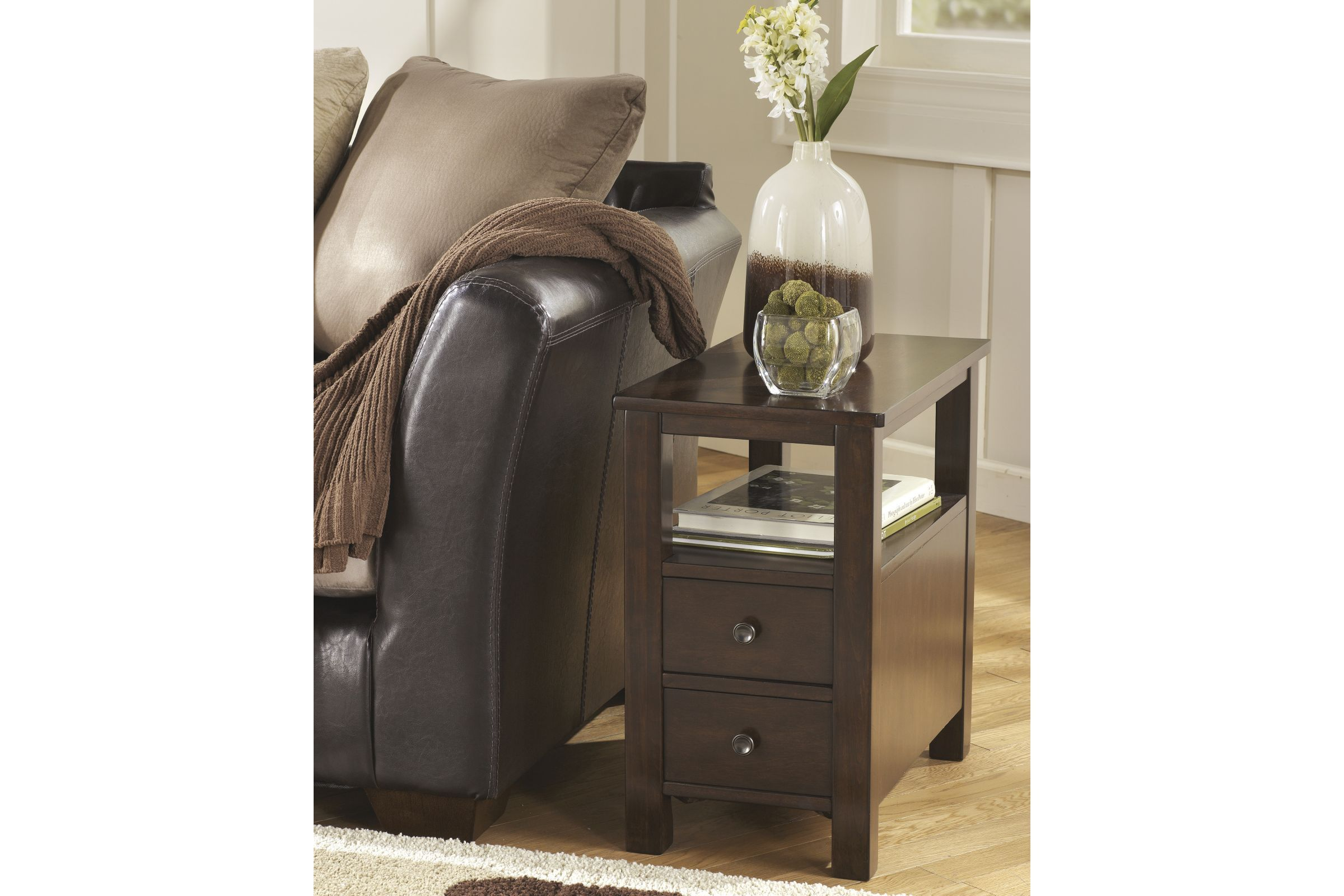 Marion Chair Side End Table By Ashley Chair Side Table