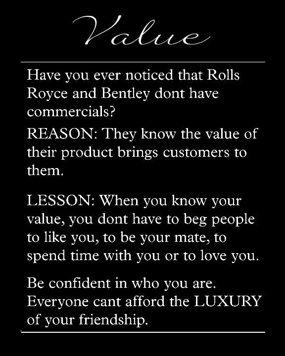 Image Result For Value Yourself Quote So Fooking True