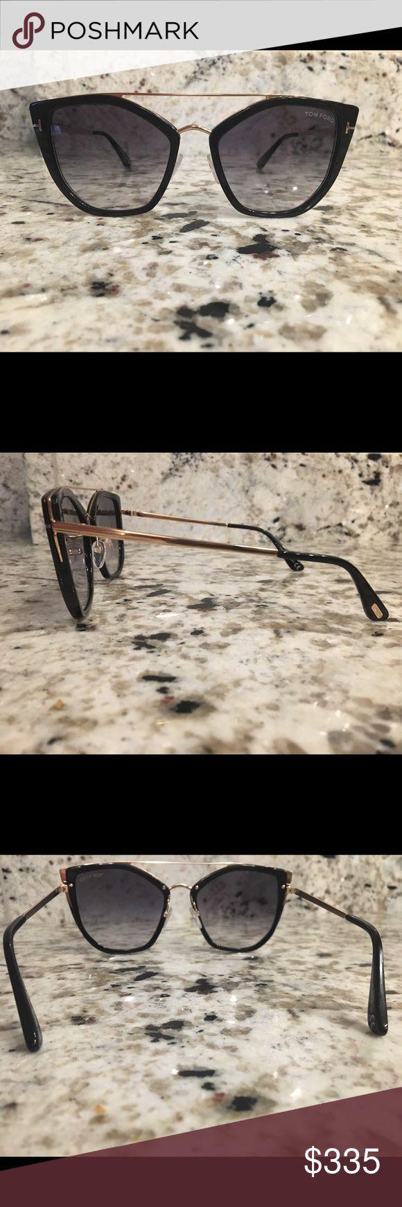 Tom Ford Square Sonnenbrille FT0648-01B * Ausgezeichneter Zustand * Mag nur nicht d ..., ...   - Sc