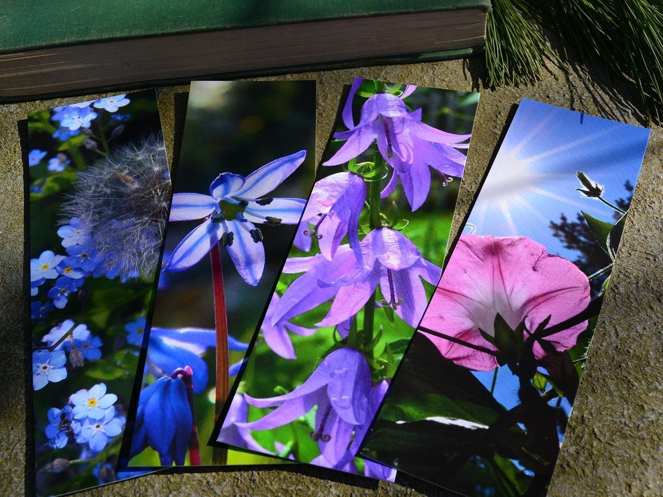 Spring Flowers Quotes Many More Handmade Bookmarks Great Gift