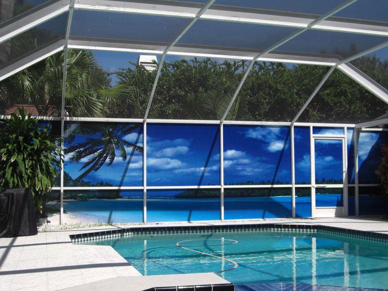 Examples Patio Scenes Outdoor Privacy Privacy Screen Outdoor Pool Screen Enclosure