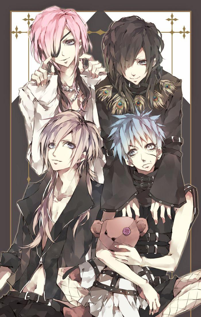Anime characters kei visual SID