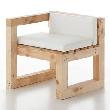 Resultado de imagen para sillones de madera chairmadera for Sillones de madera reciclada