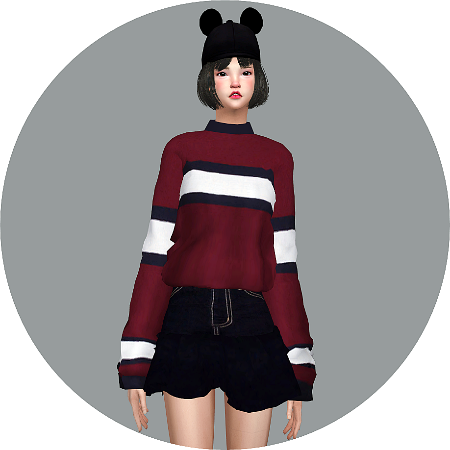 206 best images about sims 3 on pinterest dots sims 4 and warm - Sims4 Marigold Half Polo Neck Sweater