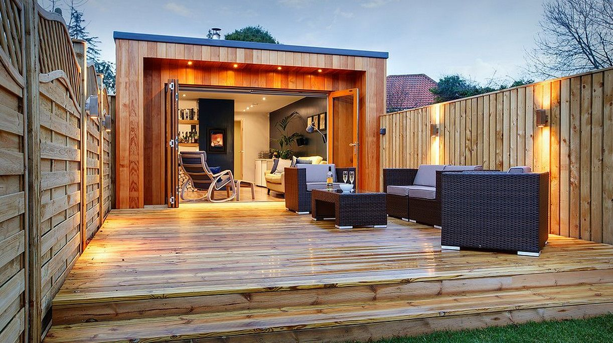 how to build a man cave shed - Brilliant Ideas For Man ... on Man Cave Patio Ideas id=93274