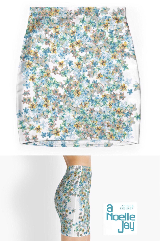 Clearance Inexpensive Cupro Skirt - Morning Glory Skirt by VIDA VIDA Shopping Online Cheap Online Xz5qF4C9z