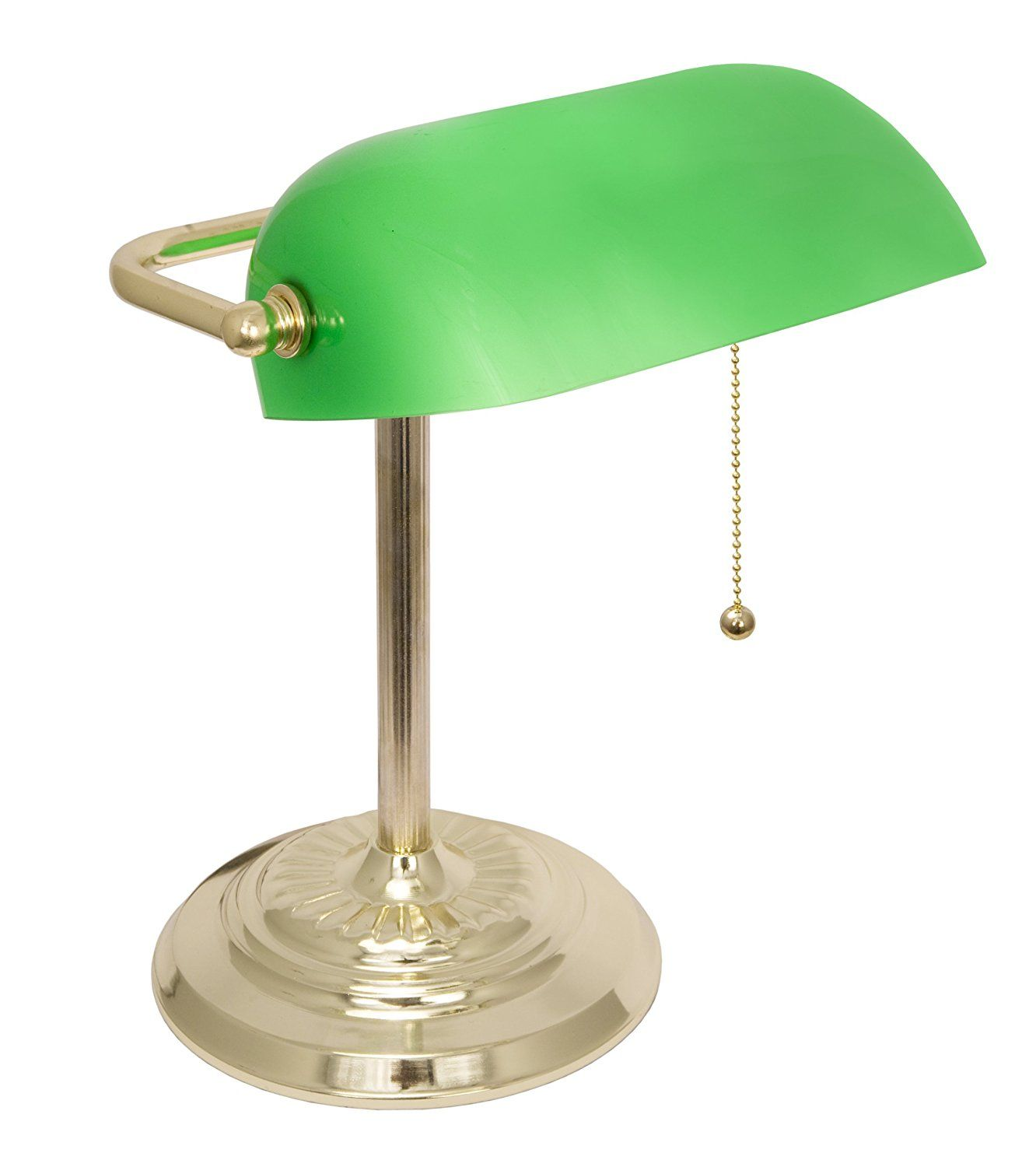 High Quality LightAccents Metal Bankers Desk Lamp   The Bankers Lamp