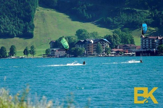 kiteboarding Achensee