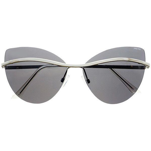 Cornelia Sunglasses LAVELIQ ($40) ❤ liked on Polyvore featuring ...