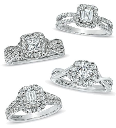 Fall In Love With Vera Wang All Over Again Engagement