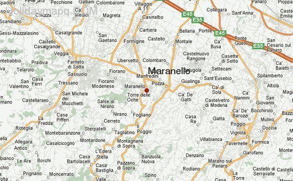 nice Map of italy maranello