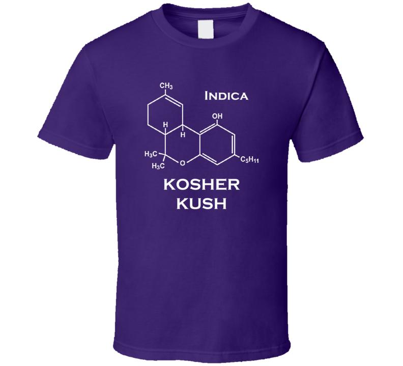 Kosher Kush Indica Strain Weed Marijuana T Shirt