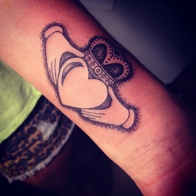 Claddagh tattoo LOVE IT | Tattoos | Pinterest | Claddagh tattoo ...
