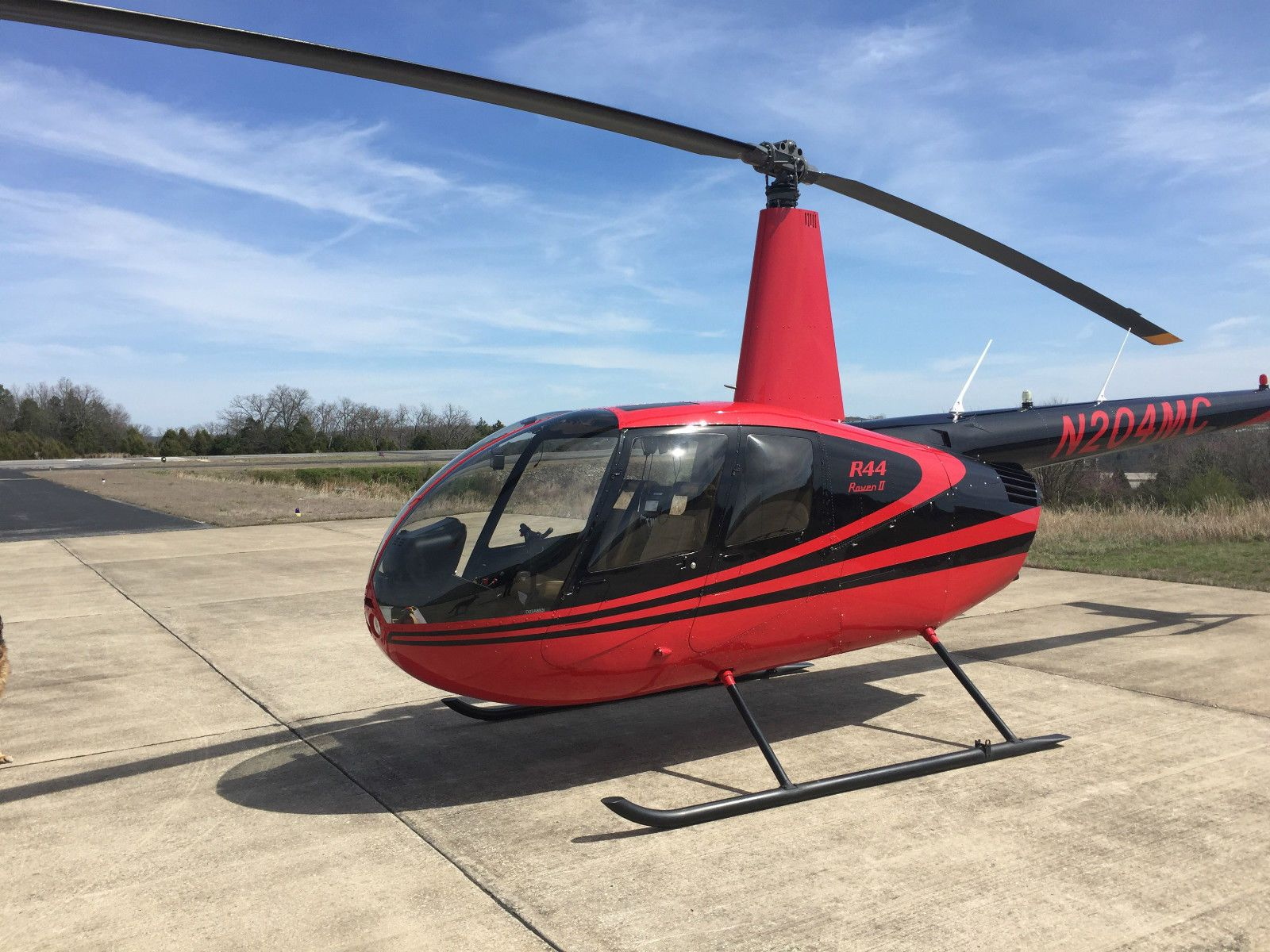 Robinson R44 Raven Ii Helicopter W Air Conditioning