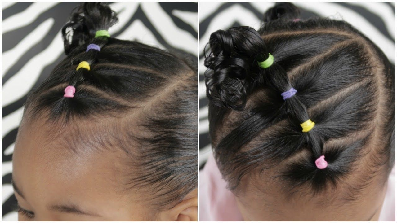 Easy minute toddler hairstyle hairstyles pinterest toddler
