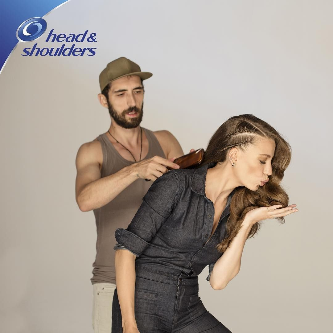 Tbt Ibrahimzengin Saçlarımı Yapınca Ben Headandshoulders Head Shoulders Serenay Sarıkaya Actresses