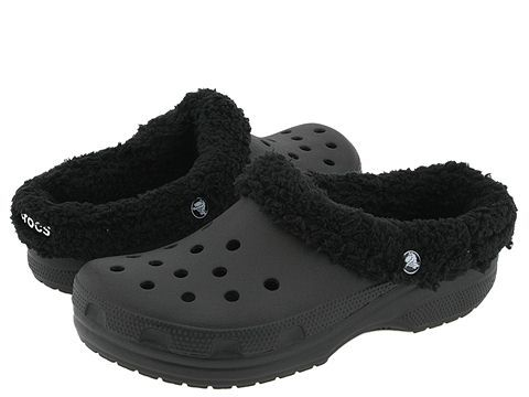 d93729b98f3b5c I know they are awful looking but I love my fur lined crocs