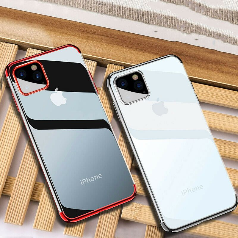 Details About For Apple Iphone 11 Pro Max Shockproof Plating Clear Silicone Hybrid Case Cover Rose Gold Iphone Case Iphone Apple Iphone Case