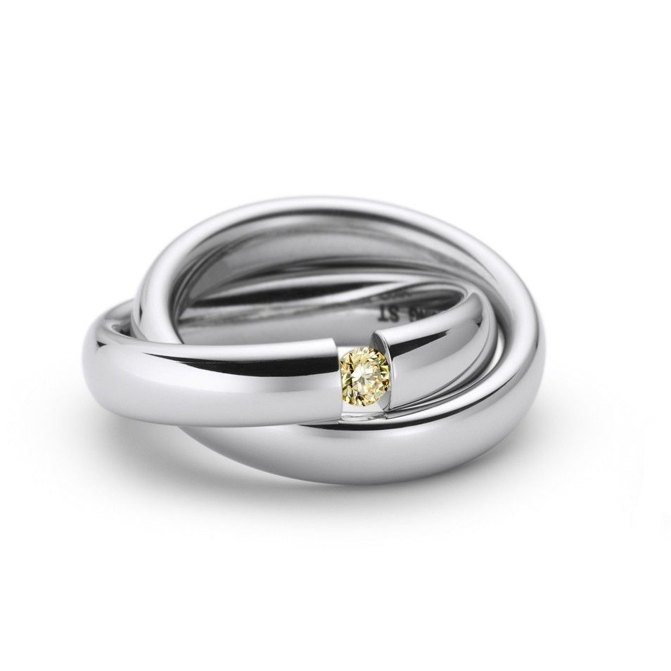 Niessing Tension Ring Steel Amp Diamond Uno Ring Orro