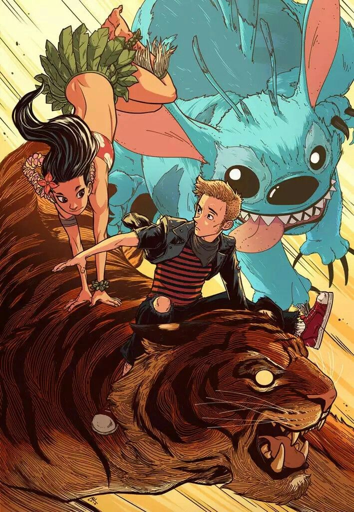 Lilo Calvin By Andrew Kwan In 2019 Lilo Stitch Characters