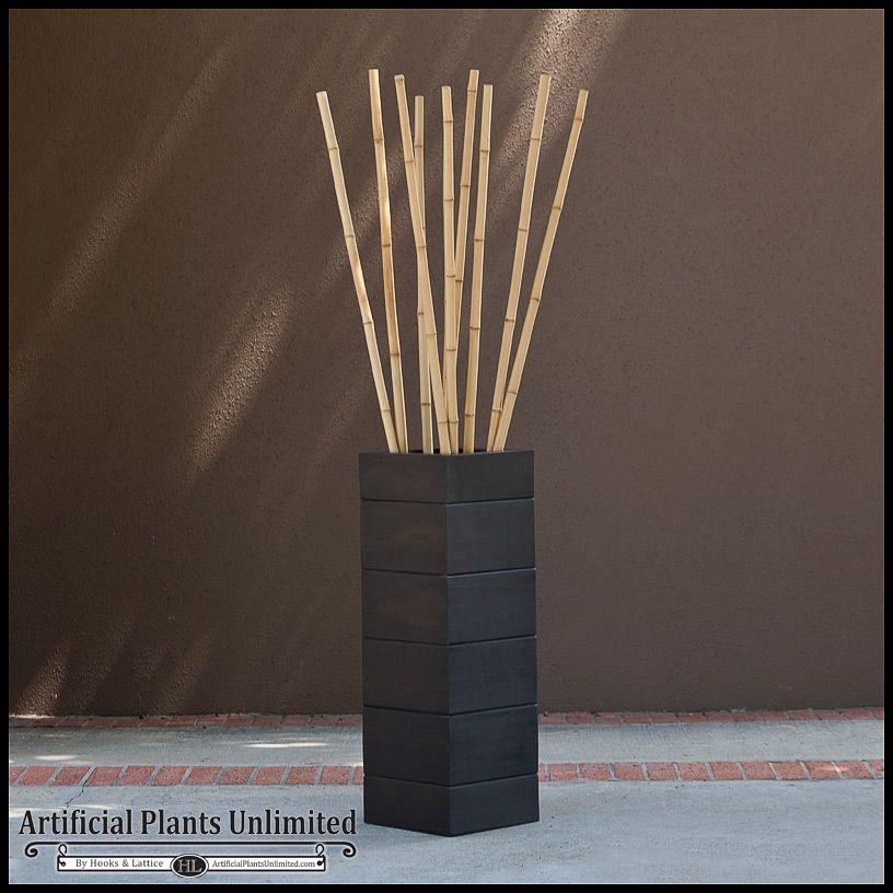 Decorative Bamboo Canes In A Wood Grain Planter Home Decorators Catalog Best Ideas of Home Decor and Design [homedecoratorscatalog.us]