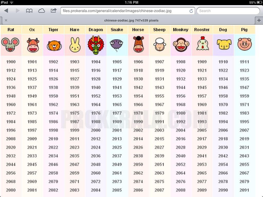 Chinese zodiac chinese astrology chart chinese zodiac