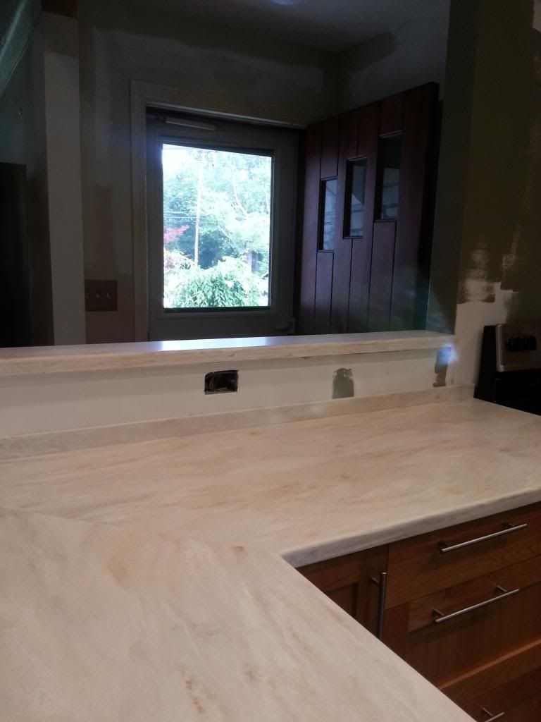 Hi I M Considering Installing A Corian Countertop In My Kitchen