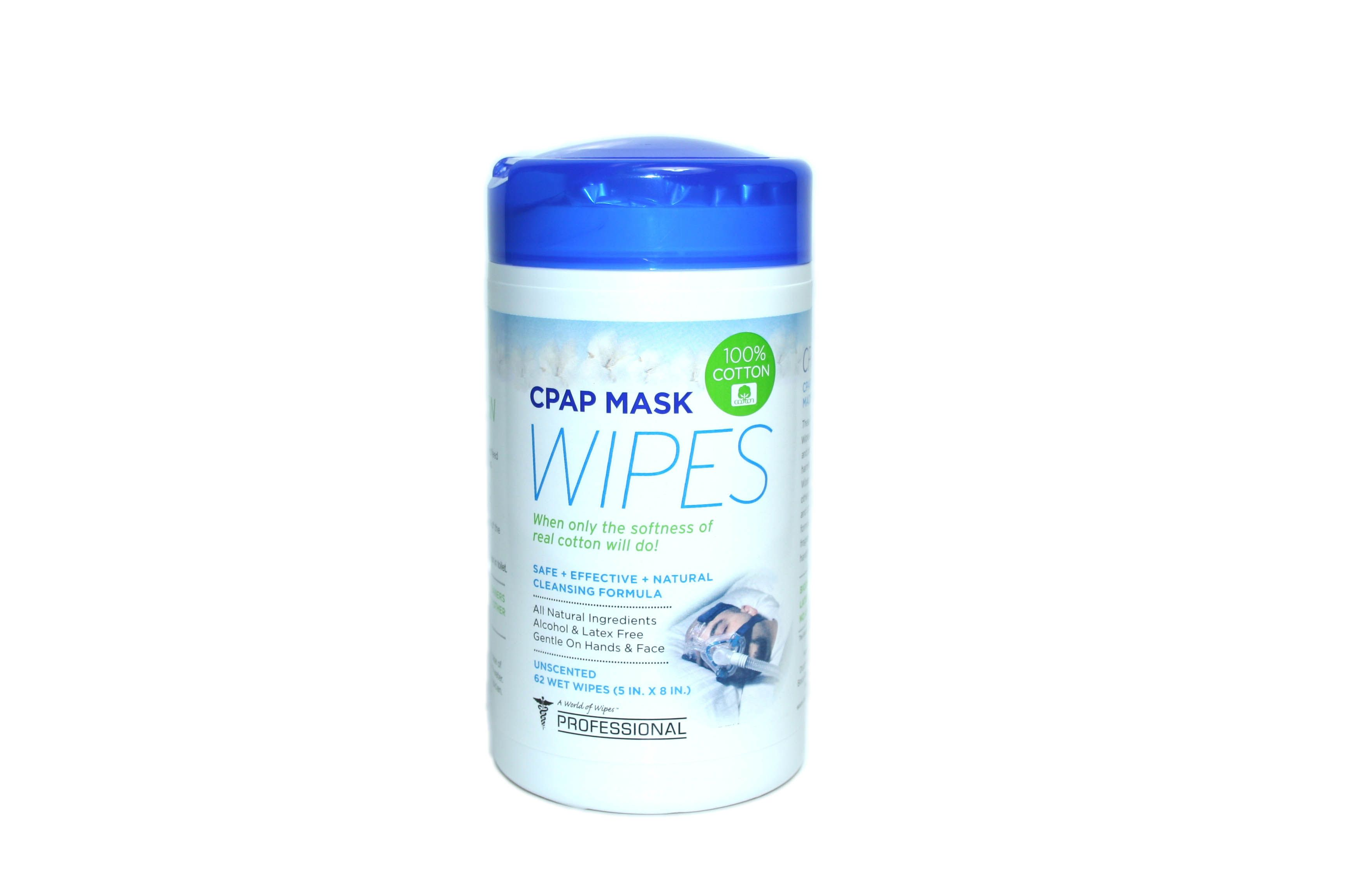 Use Citrus Ii Cpap Mask And Machine Disposable Cleansing Wipes Daily For Safe Gentle Cleaning Deodorizing And Maintenance Of Cpap Mask Cleansing Wipes Cpap