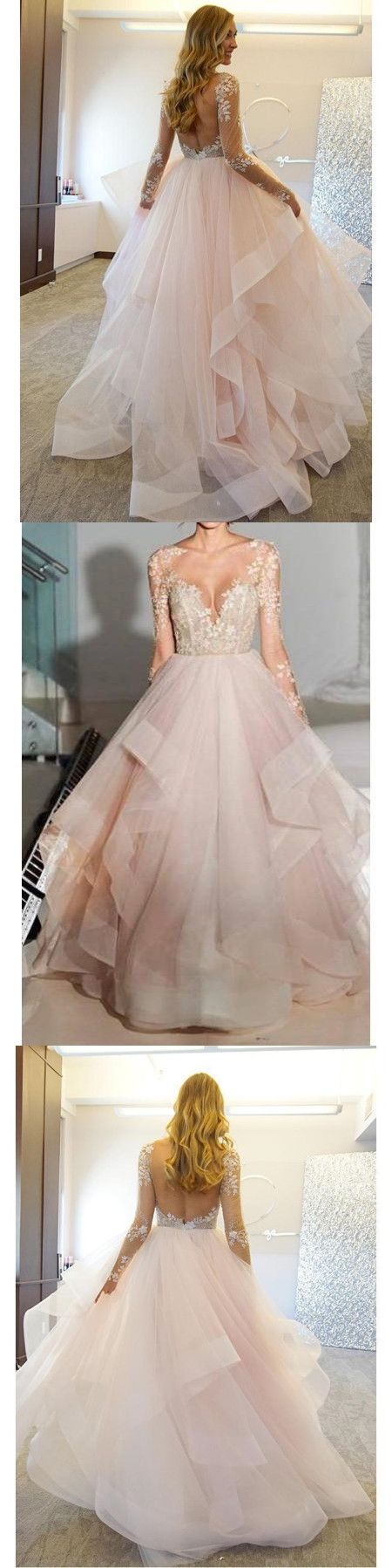 Ball gown lace prom dress african long sleeve plus size prom dress