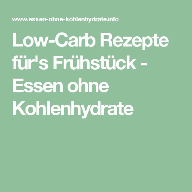 Low-Carb Rezepte für's Frühstück - Essen ohne Kohlenhydrate