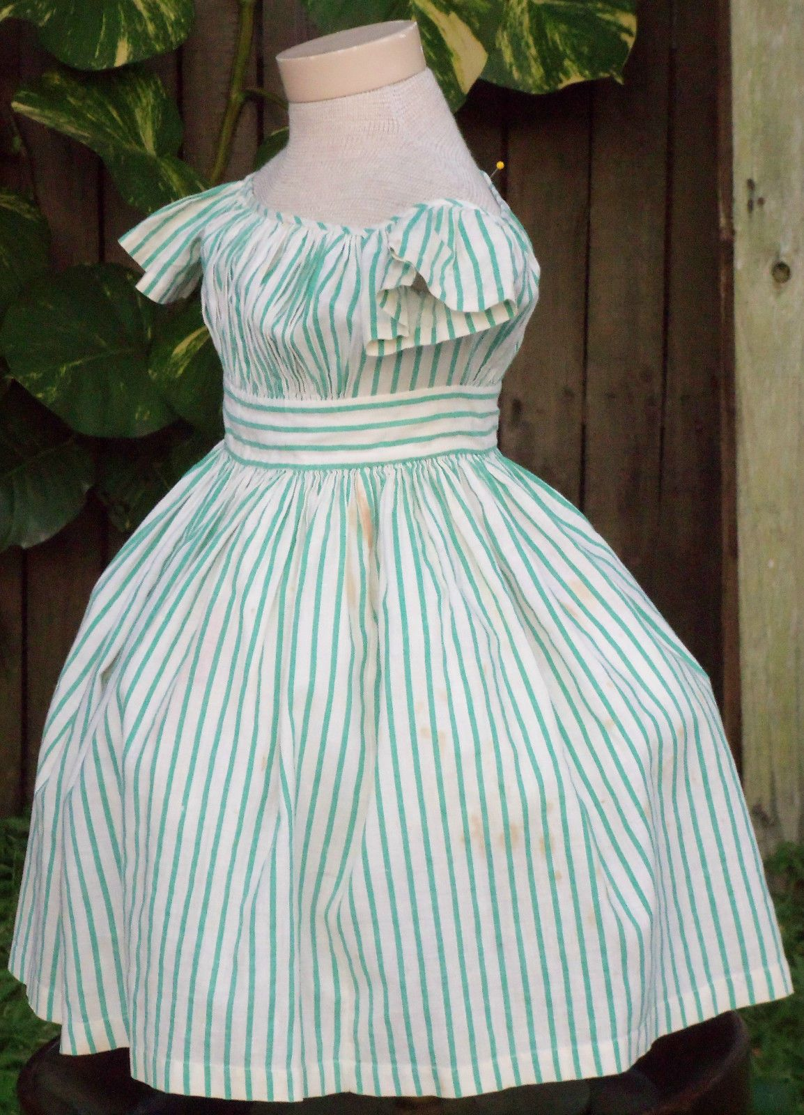 ORIGINAL CIVIL WAR ERA CHILD\'S DRESS c.1860 Sadira Vintage Ebay ...