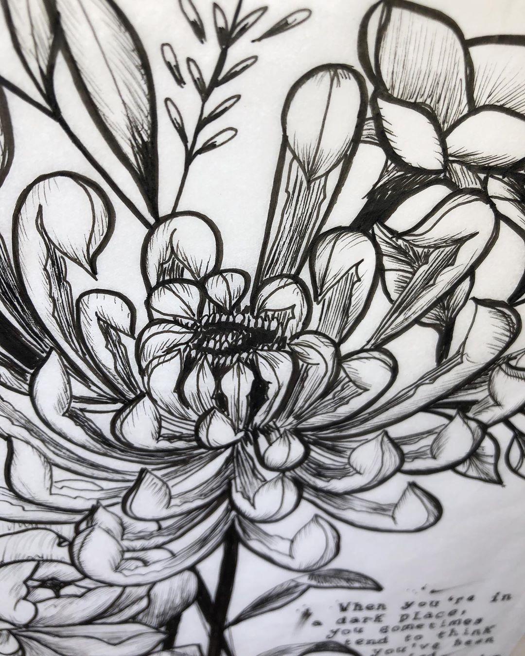 𝙿𝚎𝚛𝚑𝚊𝚙𝚜 𝚢𝚘𝚞'𝚟𝚎 𝚋𝚎𝚎𝚗 𝚙𝚕𝚊𝚗𝚝𝚎𝚍?? 🌻  #art #drawing #flowerdrawing #floraldrawing #flowerart #floralart #tattooart #tattoodrawing #promarker #girly #girlytattoo #girlytattoos #wiccaart  #tattoodesign #doodle #sketch #inkideas #instaartist #femaninetattoo #ornementaltattoo #peony #peonyflower
