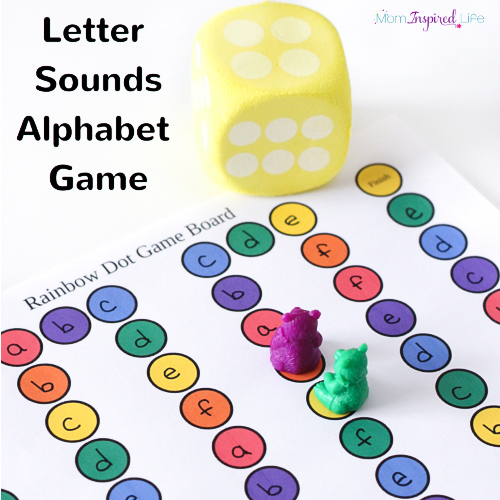 printable letter sounds alphabet board game kiddo school ideas alphabet games preschool. Black Bedroom Furniture Sets. Home Design Ideas