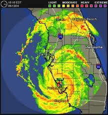 Doppler Radar Map Of Hurricane Charley Yes I Meant To Put This In
