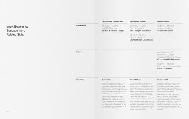 Portfolio For Resume Portfolio Resume  Who Do You Think You Are  Pinterest  Layouts .