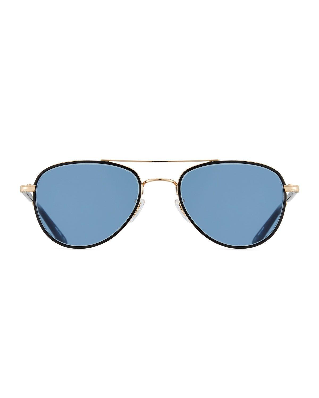 91353a34802eb Garrett Leight Linnie Aviator Sunglasses