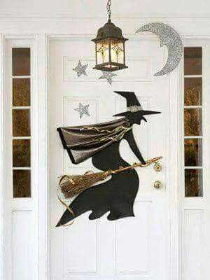 Pin by Ericka Toombs on Fall/Halloween/Thanksgiving Pinterest - halloween decorations witch