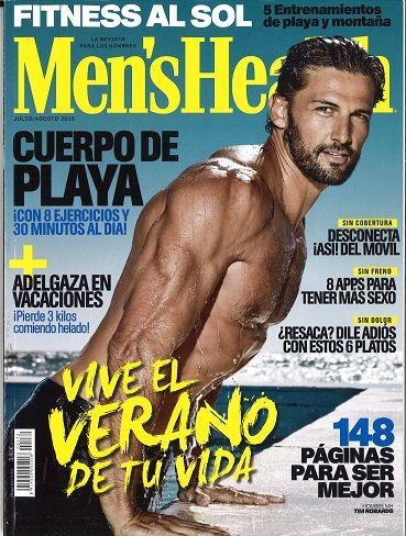 Men S Health Nº 172 Xullo Agosto 2016 Salud Masculina Buena Forma Del Músculo Cuerpo De Playa