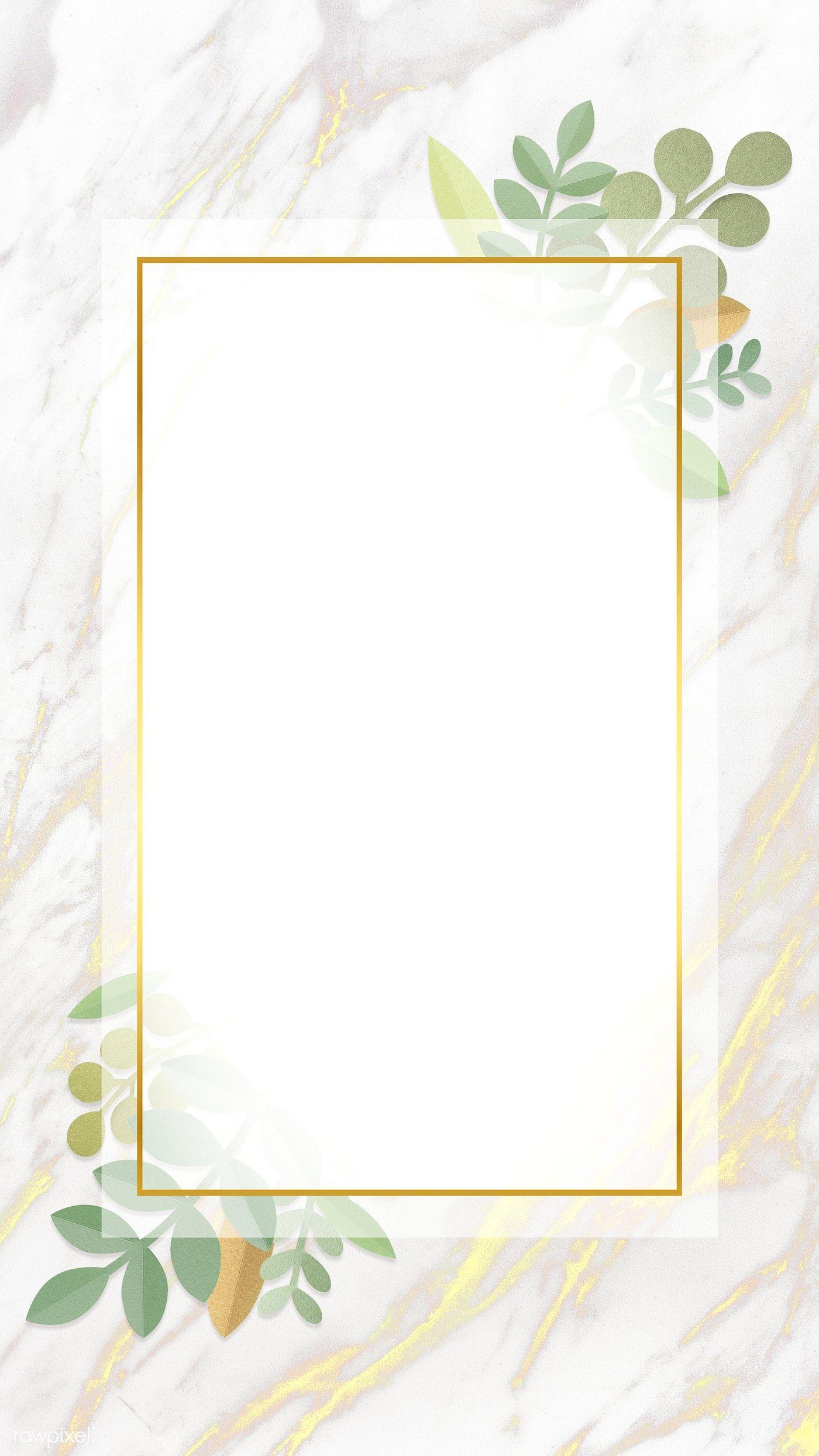 إطار مستطيل الإطار الإطار مستطيل Png وملف Psd للتحميل مجانا Flower Frame Flower Border Flower Painting