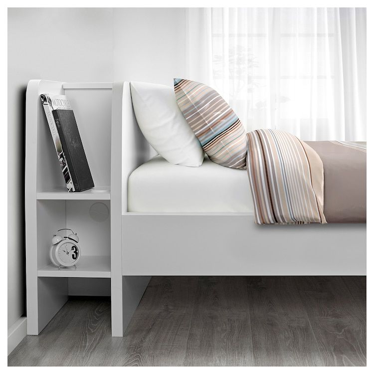 Ikea Askvoll Bedframe M Hoofdeinde Opberger Hoofdeinde Bedkader Ikea Bed