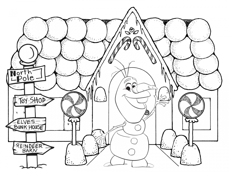 Frozens Olaf Coloring Pages Best Coloring Pages For Kids Christmas Coloring Sheets Christmas Coloring Books Gingerbread Man Coloring Page